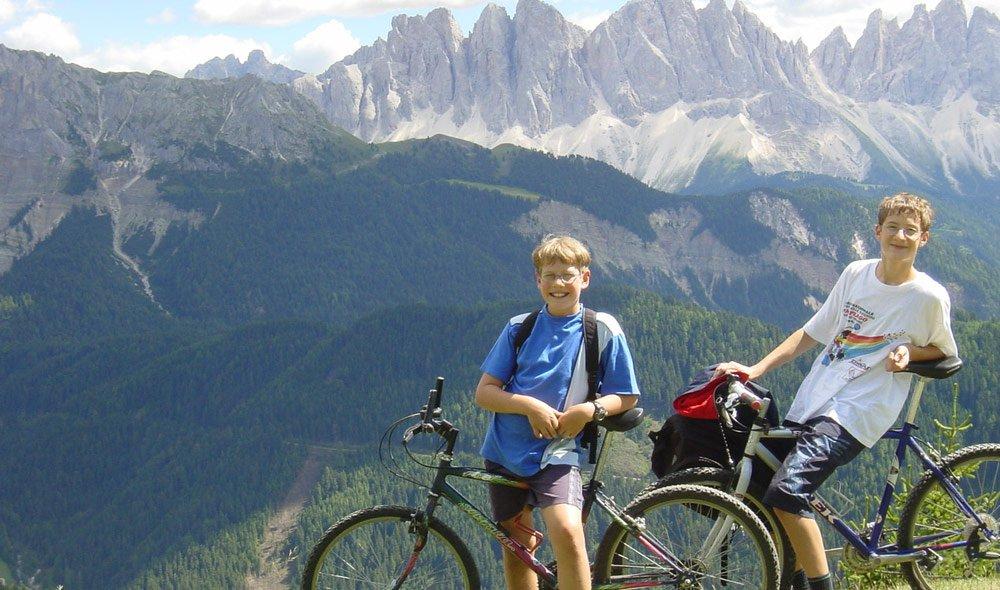 Auf dem Rad die schönsten Berge Südtirols erkunden